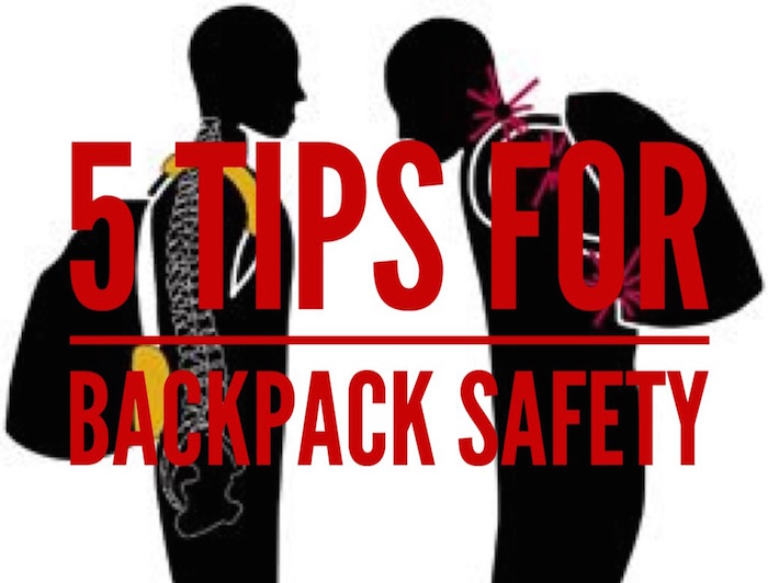 5 Tips for Backpack Safety